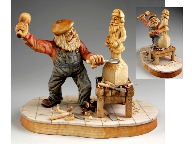 Woodcarver online magazine wom the carvers companion part