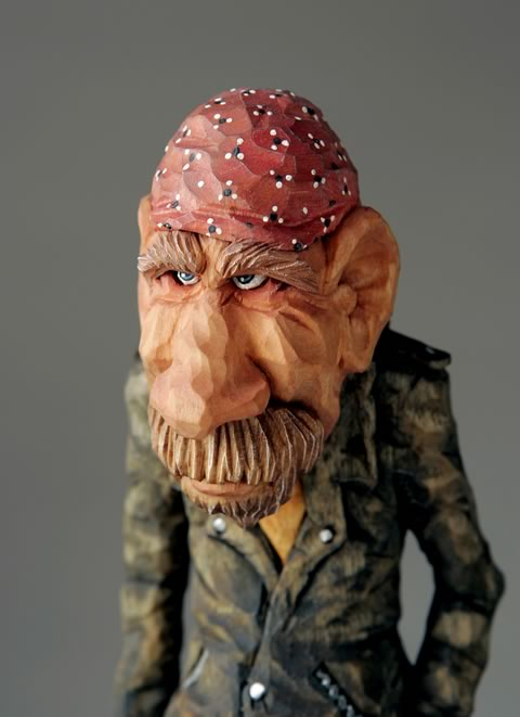 Caricature carvers of america cca auction items on