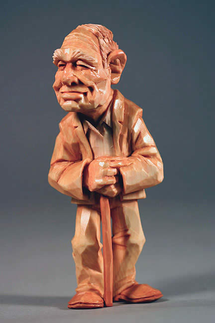 Caricature carvers of america bios dave stetson