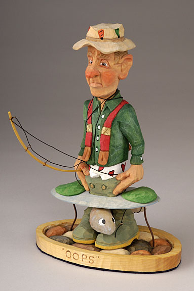 Caricature Carvers Of America Bios Eldon Humphreys