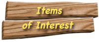 Items of Interest